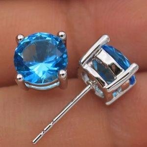 RESTOCKED 5⭐️ Blue Topaz Earrings